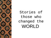 GLTC 220 (L14) Stories of those who changed the world part 2