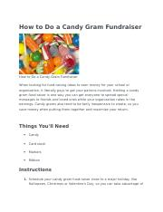 How to Do a Candy Gram Fundraiser.docx