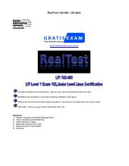 gratisexam.com-LPI.Realtests.102-400.v2015-04-04.by.Louis.120q