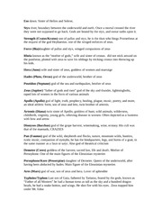 Mythology Summary & Study Guide - BookRags.com