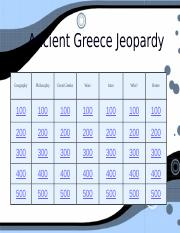 Jeopardy Greece  2016