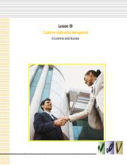 chapter09 Customer Relationship Management