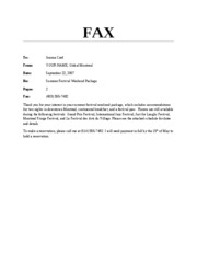 Word A Skills Review-Card Fax