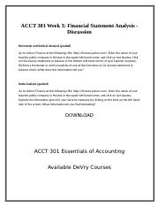 ACCT 301 Week 3; Financial Statement Analysis - Discussion.docx