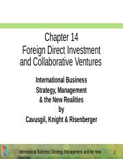 Ch_14_Foreign_Direct_Investment