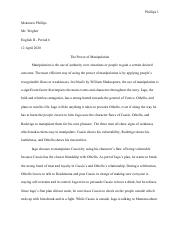 Mckenzie Phillips - Othello Essay.pdf