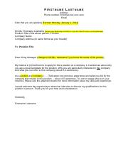 Cover Letter Template - User-Friendly (1)
