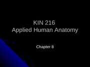 Chapter 8 - Appendicular Skeleton