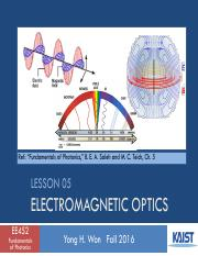 Lesson_05_2016f_EM Optics
