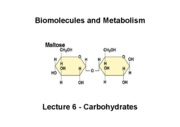 Biomolecules Lecture_6_CHO