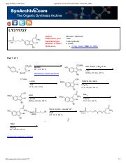 Synthesis of LY311727 by Michael J.pdf