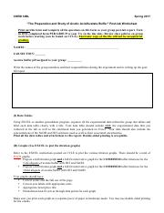 02 - The Preparation and Study of Acetic Acid-Acetate Buffer Post-Lab Worksheet (2)