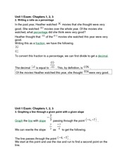 Buisness Statistics Unit 1 Exam Chapters 1 2 3