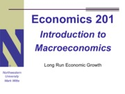 Lecture 201 - Long Run Growth (1)