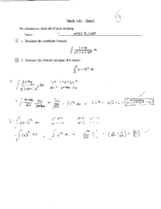 math142 s06 quiz1 to quiz11
