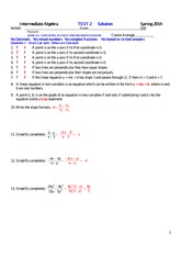 MATH 140 Spring 2014 Test 2 Solutions