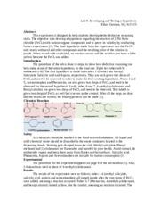 synthesis of 2 chloro 2 methylbutane lab report