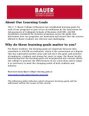 Learning Goals Undergraduate.docx