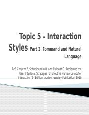 5-InteractionStyles2_Command and Natural Language
