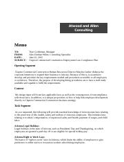 Employment Law Compliance Plan.docx