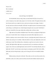 Essay #2 - Classification - Draft.docx