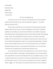 essay narrative speech.docx