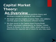 5 CAPITAL_MARKET_THEORY-topic_five.pptx