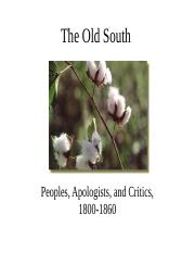 oldsouth.ppt