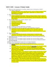 SOCI 1301 - Lesson 3 Study Guide.docx