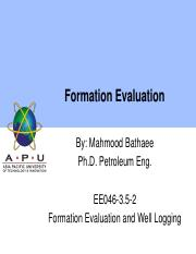 10 Formation Evaluation