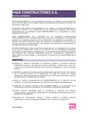 POLITICA AMBIENTAL C&R.doc