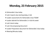 ECE 3400 Lecture 11 -Mon. 23 Feb. - Ch. 8 - Setting Requirements - BB
