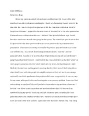 Pub. Speaking, Reflection Essay 2