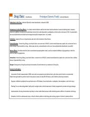 Medication Class Notes Template-11