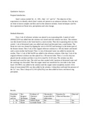 pre lab report Toggle navigation department of physics and astronomy home headlines a sample lab report for this activity is provided as an example for you to follow when.