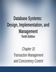 Ch10 00 Transactions Mgt