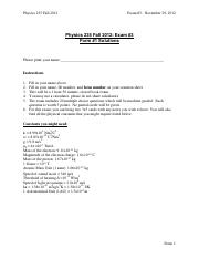 p235f12_exam3_Form1_Solutions