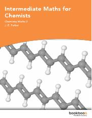 Intermediate Maths for Chemists.pdf