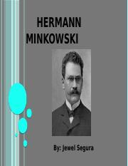 Hermann Minkowski geometry project.pptx