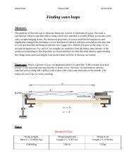 Physics lab 10 Standing waves.docx