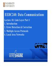 EEDC240-Lecture10 Link Layer Part1.pdf