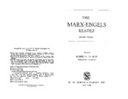 Marx, K. and F. Engles - Manifesto of the Communist Party, Part I Bourgeois and Proletarians