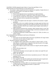 CHAPTER 3 NOTES national Income - Copy