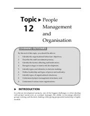 16150733Topik12Peoplemanagementandaorganisation