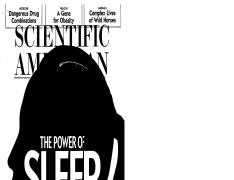 The Power of Sleep - Sleep on It, Scientific American, Oct 2015.pdf