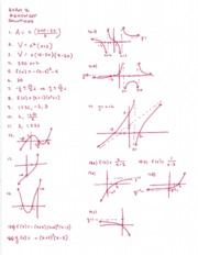 Exam 2 Review Set Answers