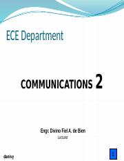 Digital Communication Introduction