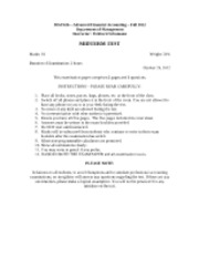 MGT426 Fall 2012 - Midterm test (1)