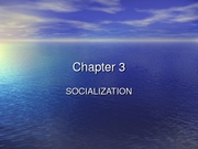 Chapter 3 Sociology