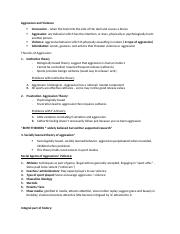 Aggression and Violence notes 2-27.docx